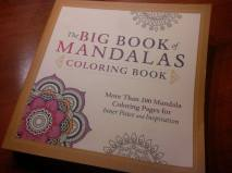 My first purchased coloring book... this ought to keep me busy for a while...